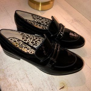 Joan and David loafers black